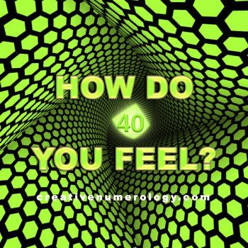 How do you feel? Creative Numerology