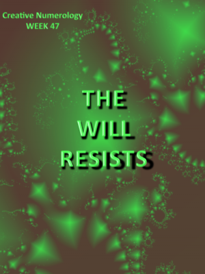 the will resists