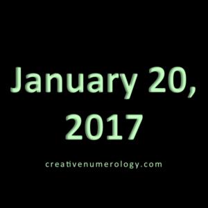 January 20 2017